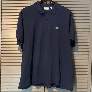🐊 Lacoste Men's Short Sleeve Navy Polo Like New!